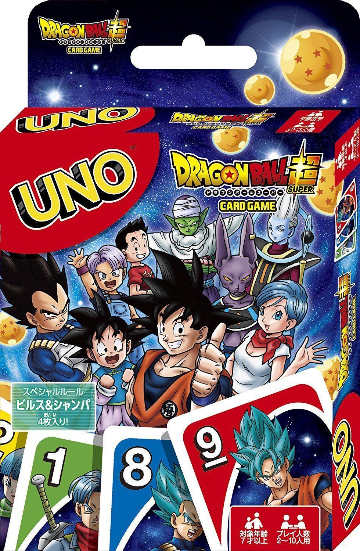 UNO Dragon Ball Super Playing Card Game Japanese Anime ...