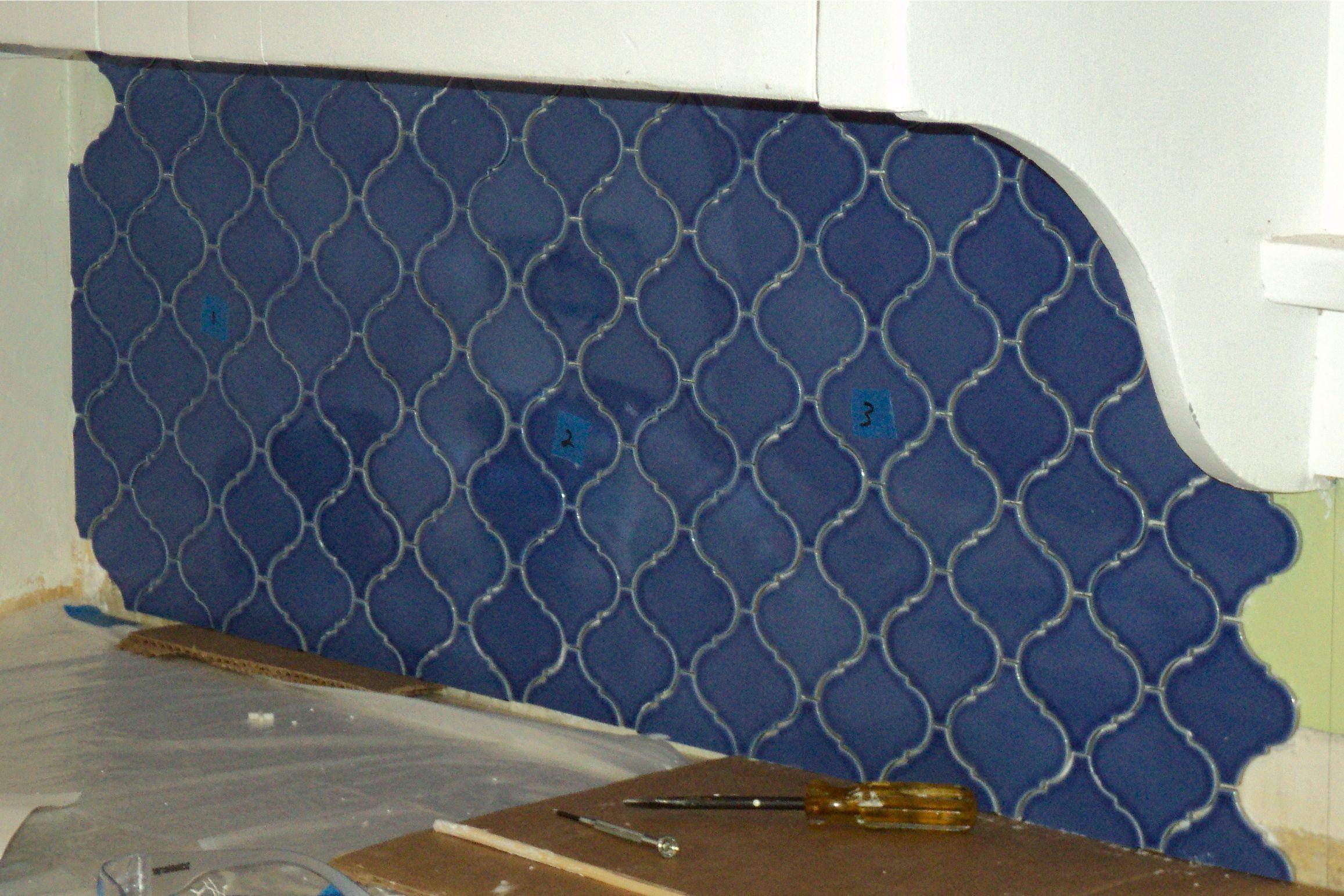 Kitchen details: The Backsplash | Blue tiles, Bathroom tiling and ...