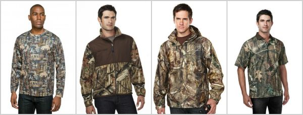 Tri-Mountain Performance Camo Apparel from NYFifth