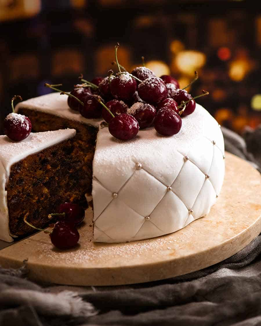 Christmas Cake EASY moist fruit cake Recipe Cake