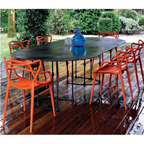 1 Chaises Masters Kartell Philippe Starck Eugene Quitllet Tosc