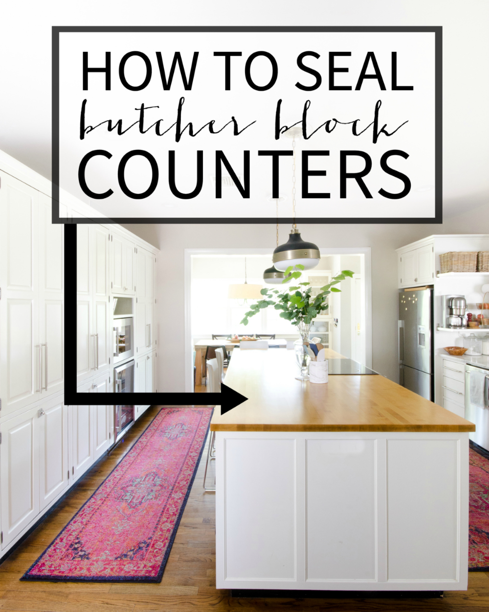 How to Seal Butcher Block Counters Home repairs, Butcher
