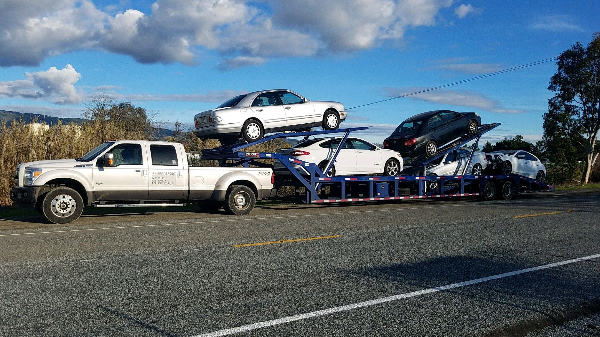 5 Car Hauler Trailer For Sale Car Hauler Trailer Trailers For Sale Trailer