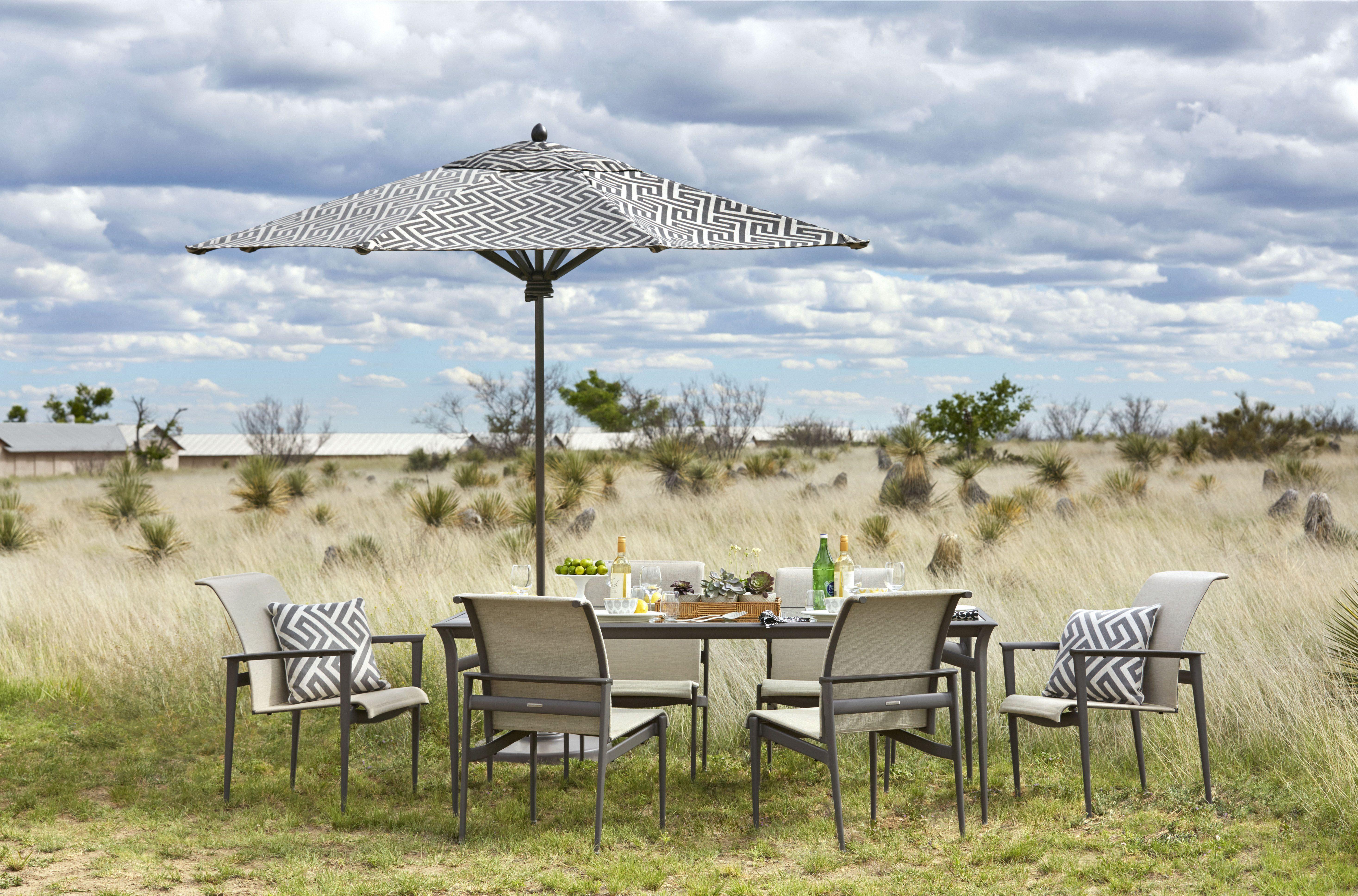Brown Jordan Flight  Piece Outdoor Dining Set Outdoor  Patio - Jordan outdoor furniture
