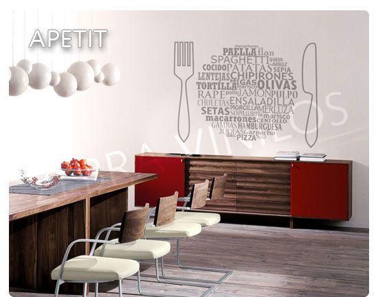 Vinilos para puertas de cocina interiores pinterest - Vinilos puertas cocina ...