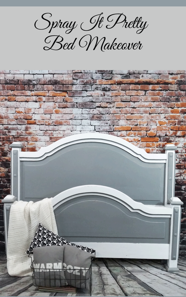 A Pretty Headboard Foot Board Makeover That Will Make Your Head Spin ...