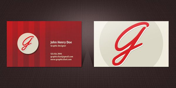 Business Card Template In Psd Format Businesscard Template Psd