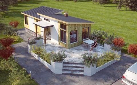 Tiny Home 12 X40 480sf 1br 1ba The Io Tiny House Studio