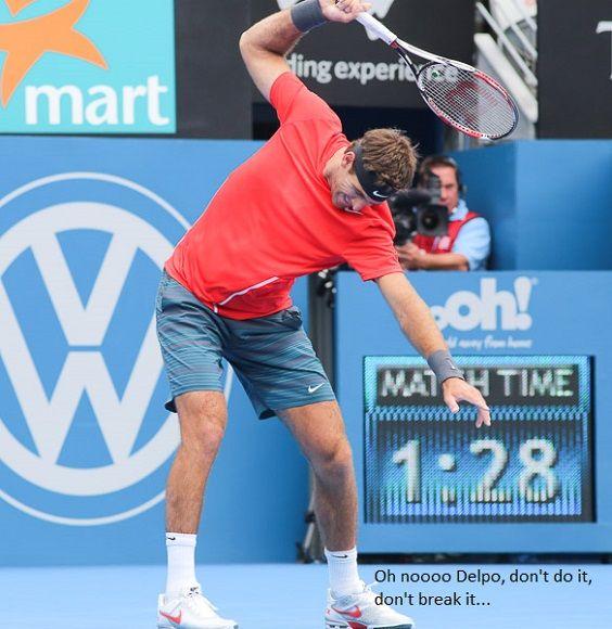 Del Potro2 Jpg 564 580 Wta Rankings Tennis Live Tournaments
