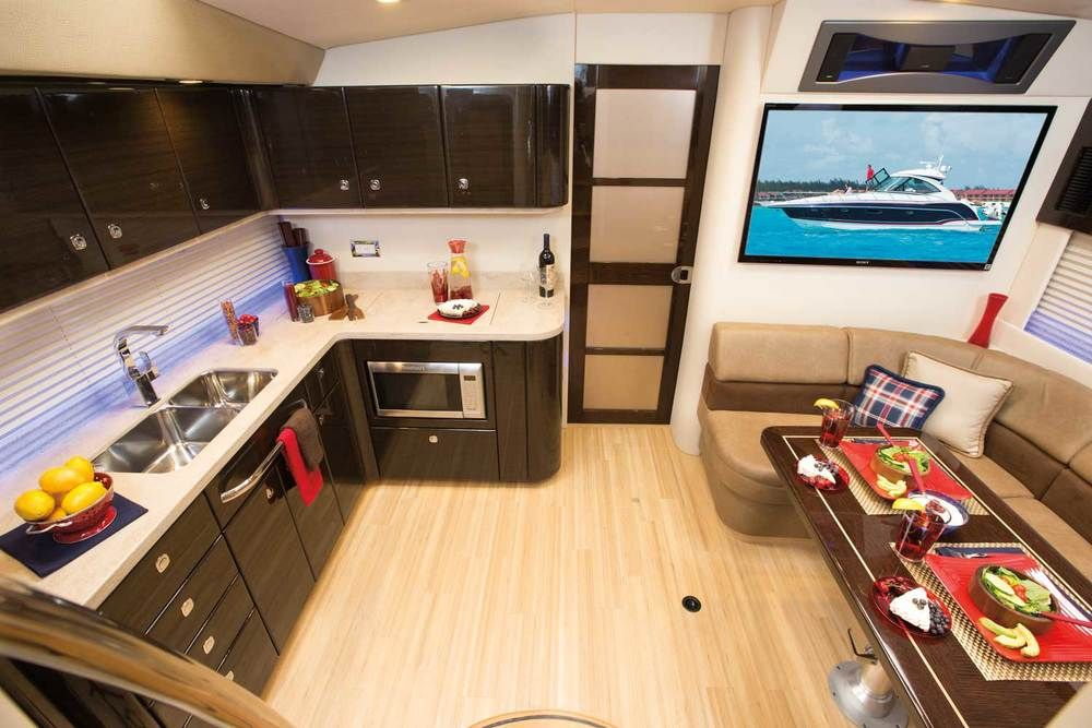 Formula 45 Yacht #Yacht #Kitchen #Boating   Kitchen, Home ...