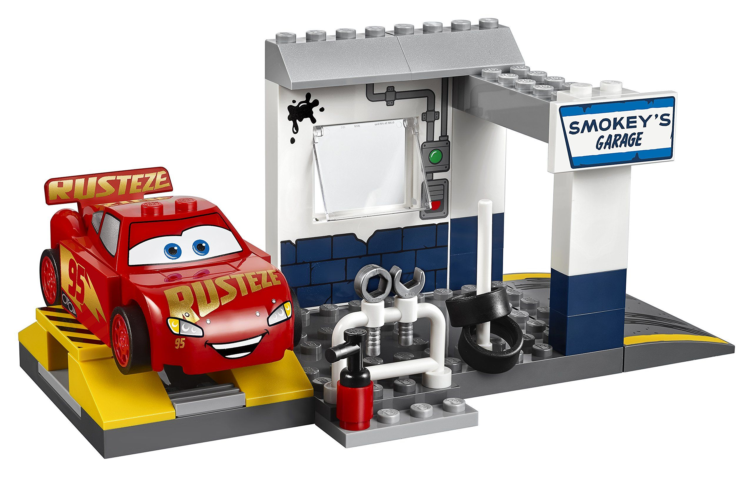 Lego Juniors Smokeys Garage 10743 Building Kit Find Out More About The Great Product At The Image Link Note Amazon Affiliat Lego Juniors Lego Lego Worlds