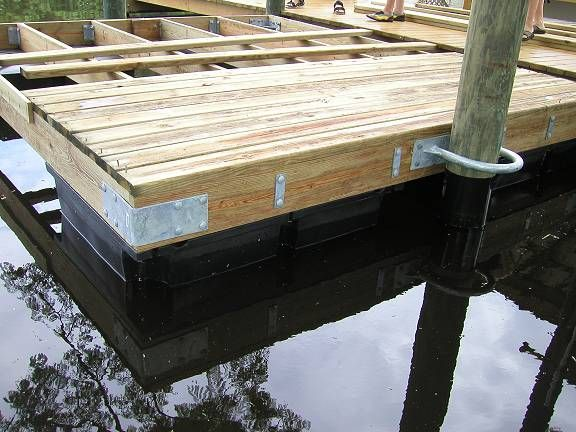 Pond dock house ideas found on lake for Pond building supplies
