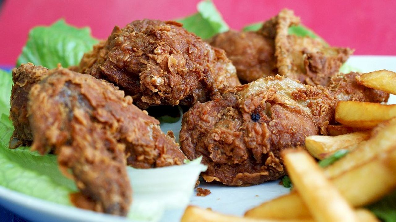 أكلات خفيفة لإفطار رمضان Broasted Chicken Food Cooking
