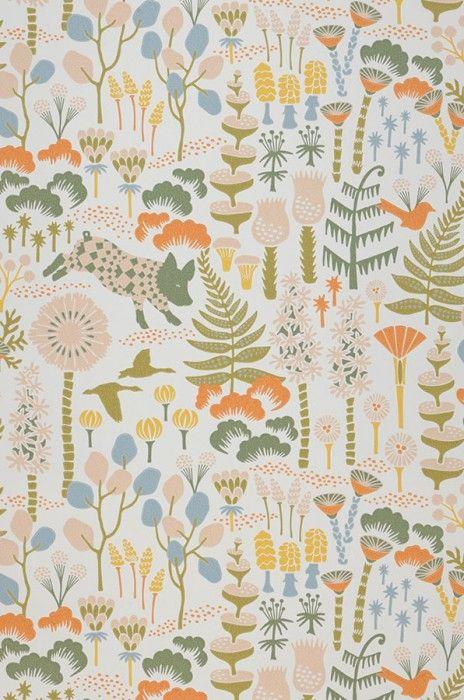 Eurissa | Papier peint des années 70 | Tous les papiers peints