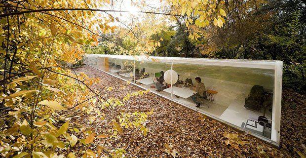 Studio di architettura nel bosco