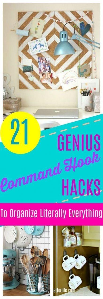 Apartment diy dollar stores command hooks 40+ ideas # ...