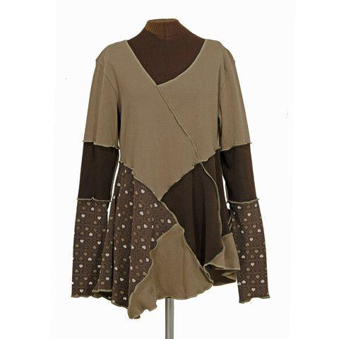 sweet heart, mud heart tunic - Secret Lentil Clothing