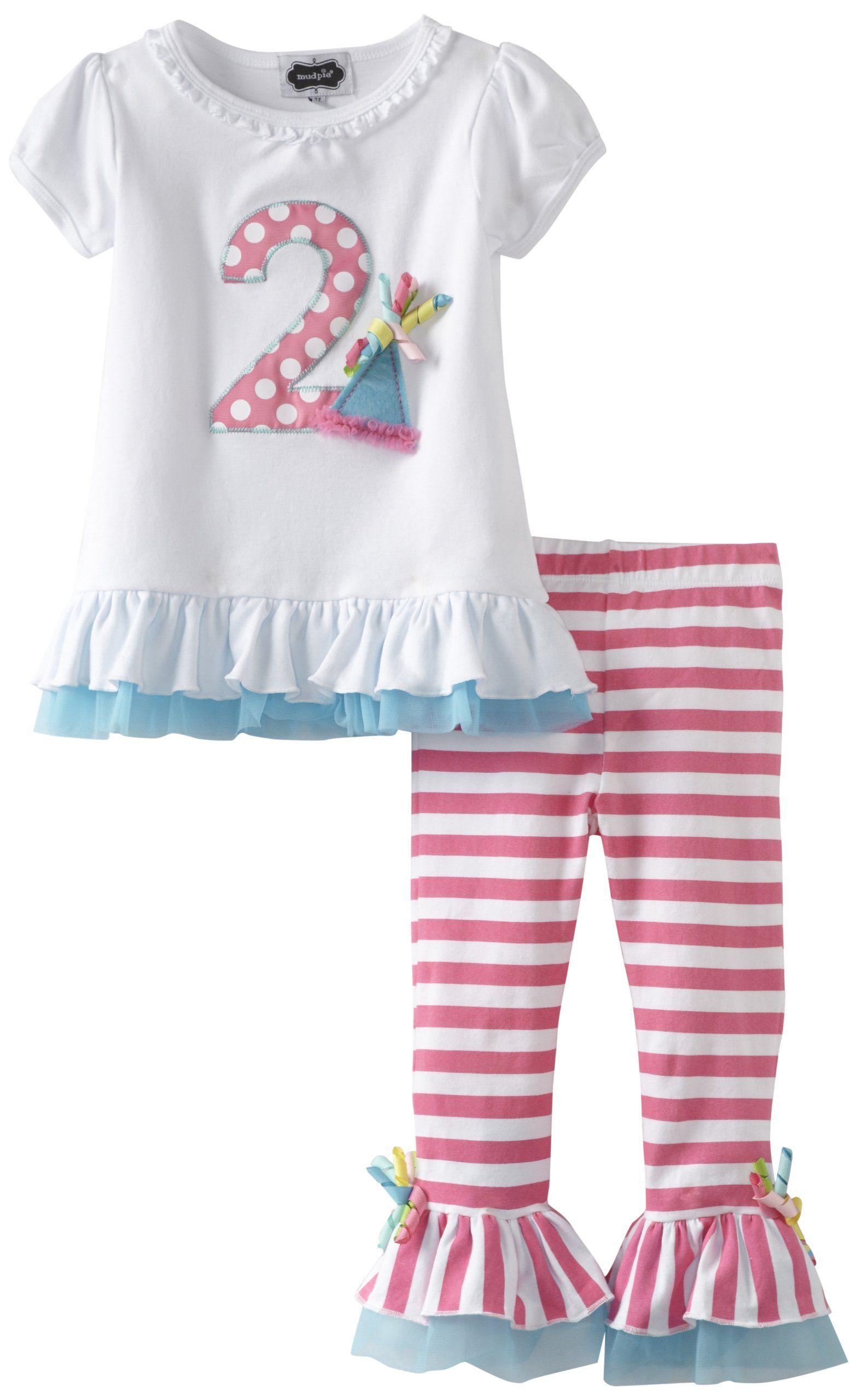 Colorful Tunic /& Legging Set 2T