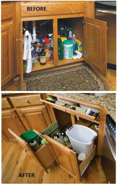 Convenient And E Saving Cabinet Organizing Ideas