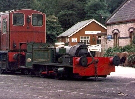 Peckett and Sons No 1900 - Britain's smallest standard-gauge