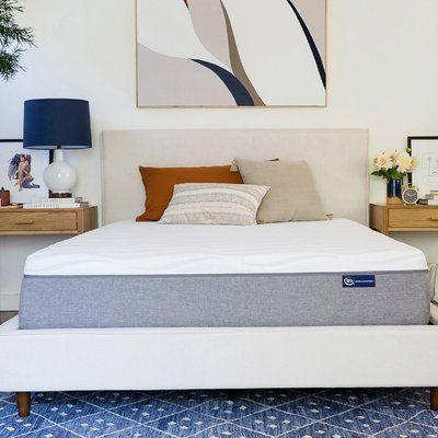 Serta Perfect Sleeper Serta 12 Medium Gel Memory Foam Mattress Mattress Size California King Bed Frame Headboard Adjustable Bed Frame Adjustable Beds