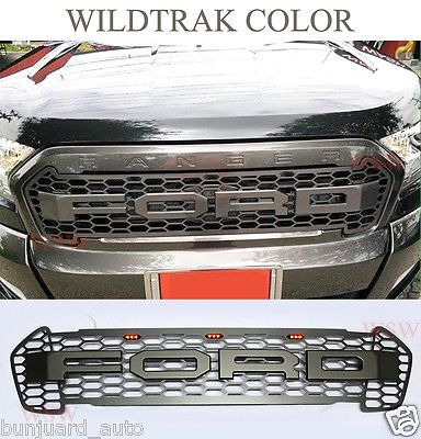 Gray Wildtrak Front Led Bar Grill Grille For Jpg 384 400 Voiture