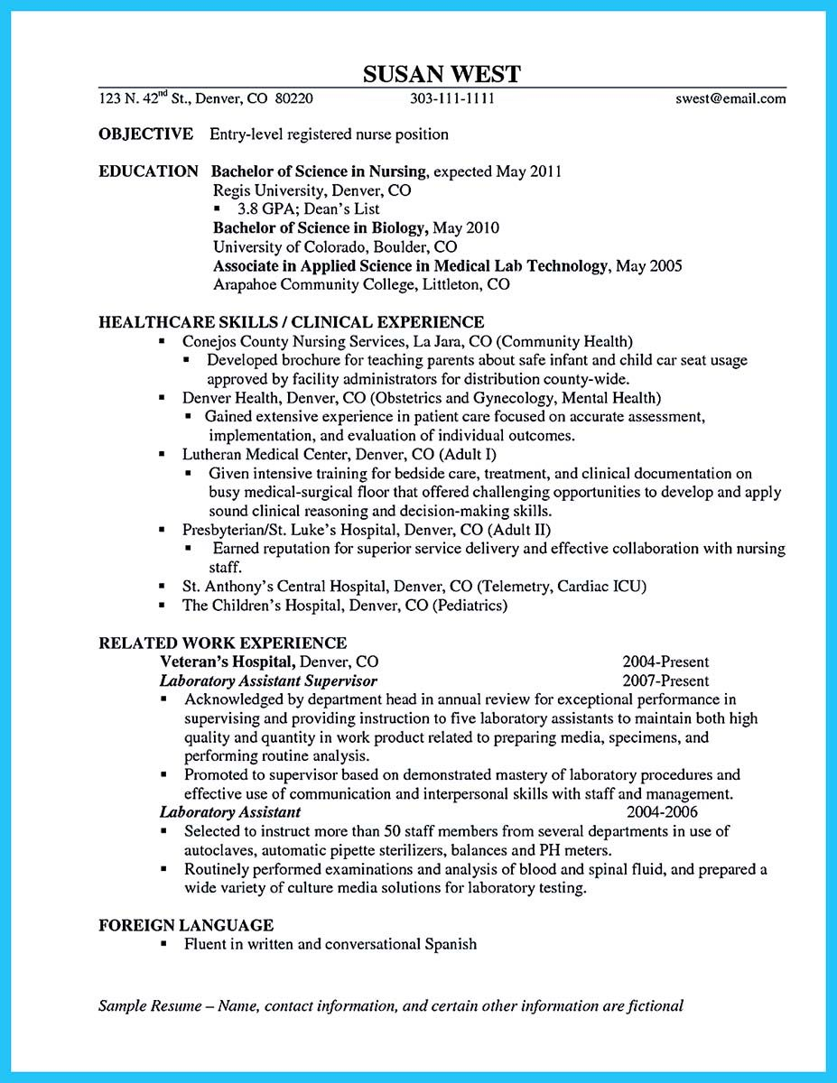 cool High Quality Critical Care Nurse Resume Samples, Check more at ...