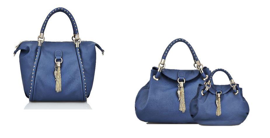 Chi ama il blu ha un profondo equilibrio interiore e fa dei suoi ideali la propria arma vincente.  E allora eccole qui le #bags S|S 2014 firmate #LiuJo!