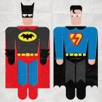 Super-roupas trocadas na lavanderia