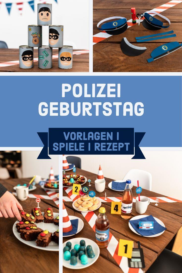 Alles Was Du Fur Den Perfekten Polizei Geburtstag Brauchst