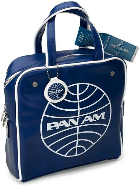476d66c613 Pan Am Flight Vintage Square Bag Blue Blue Bags
