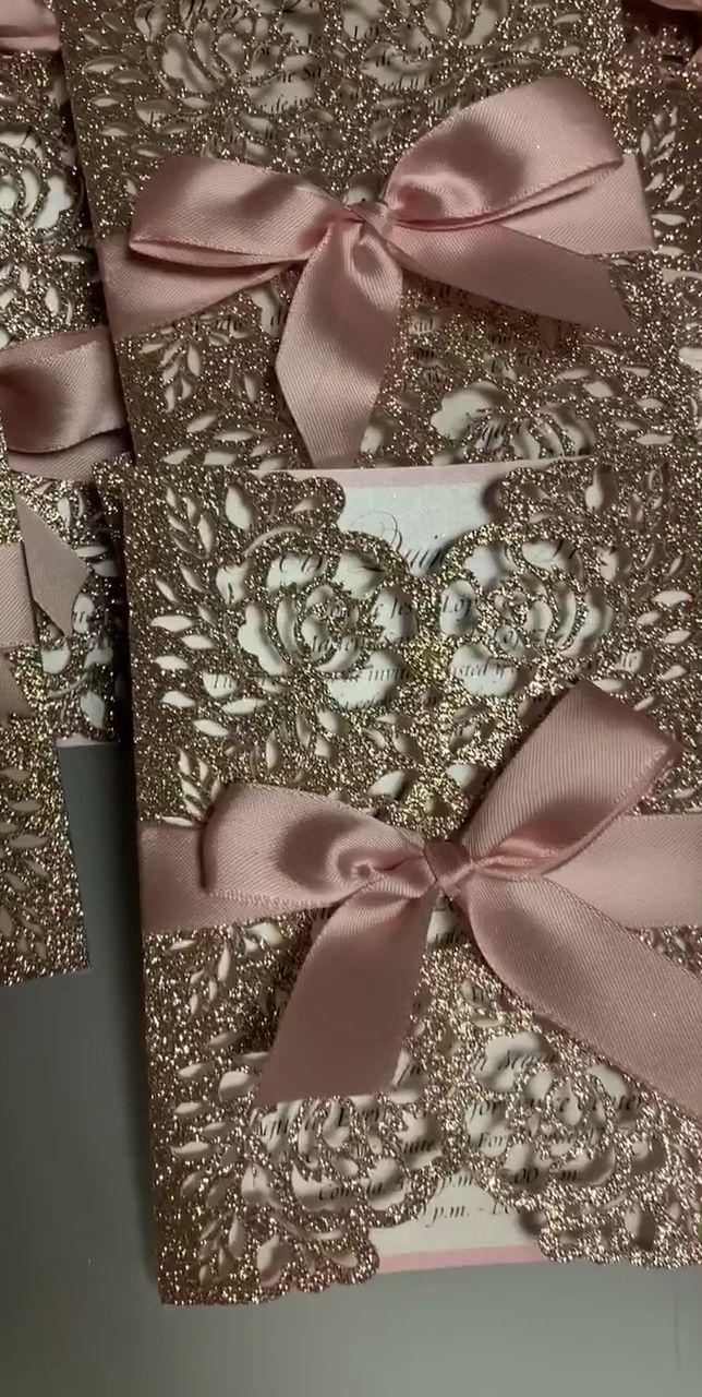 Quinceañera invitations | wedding invitations | sweet sixteen invitations | blush invitations | floral invitations