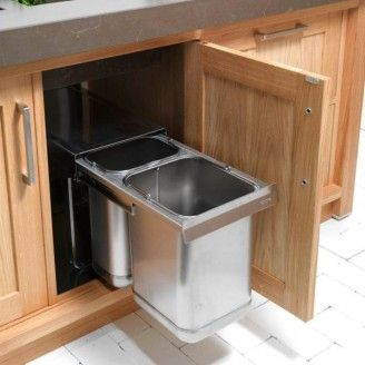 High Quality Recycle Bins For Kitchen: 11 Terrific Small Kitchen Recycling Bins .