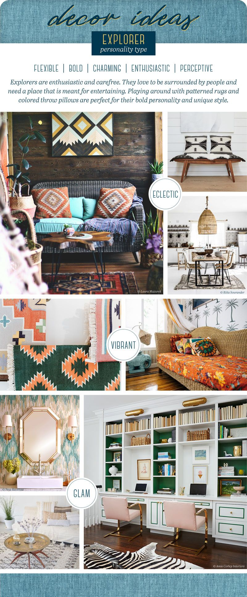 Decorating Ideas For Different Personality Types Home Decor