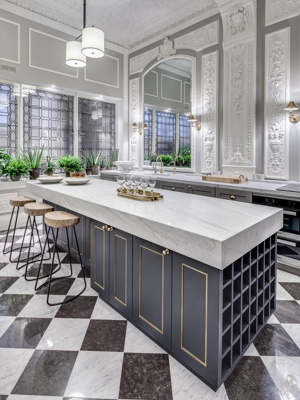 Awesome Kitchen Design Marble