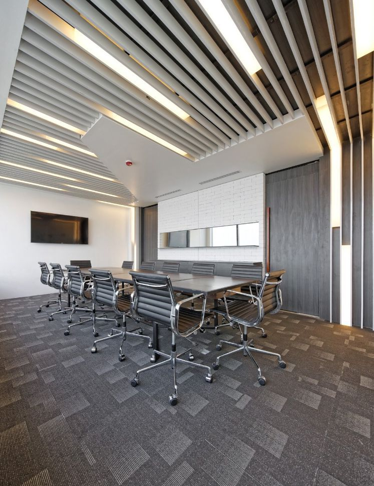 Conference Room Interior Design: Industrial, Modern