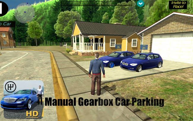 Manual Gearbox Car Parking V40 Mod Apk Para Hileli