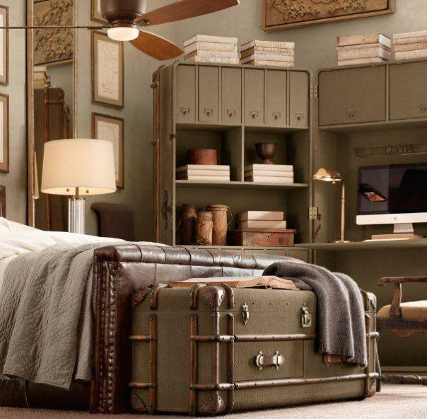 Muebles de Restoration Hardware para darle un toque exótico a tu decoración