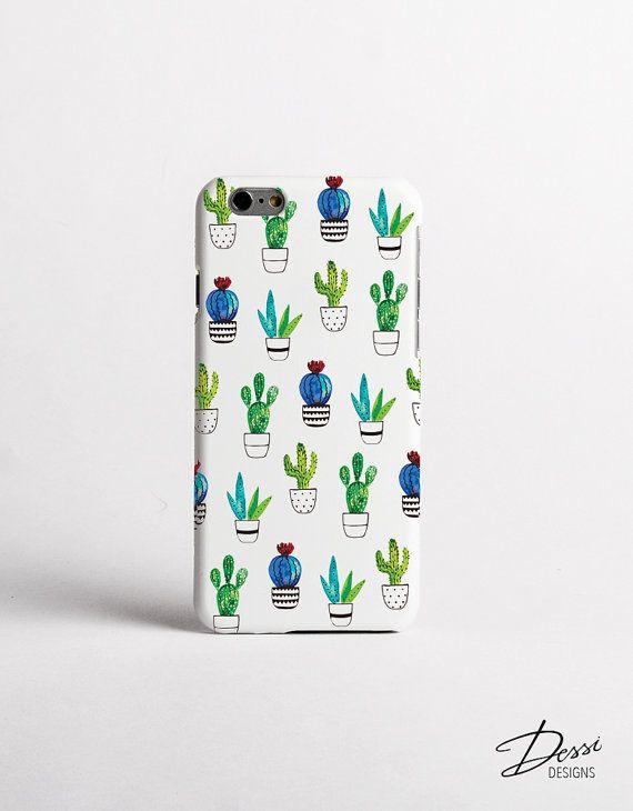 Cactus geval ontwerp voor iPhonegevallen, Samsung gevallen, gevallen van Sony, HTC gevallen, gevallen van Nokia, LG gevallen en BlackBerry gevallen
