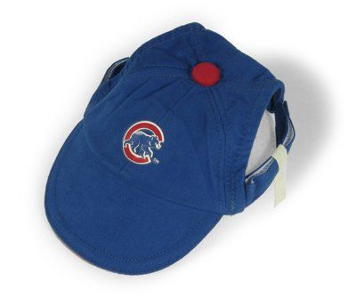 quality design 2a5e6 1ab3d Sporty K9 Chicago Cubs Dog Cap II, Small  pets  dogs  animals  baseball   dogclothes  cubs  chicagocubs  MLB