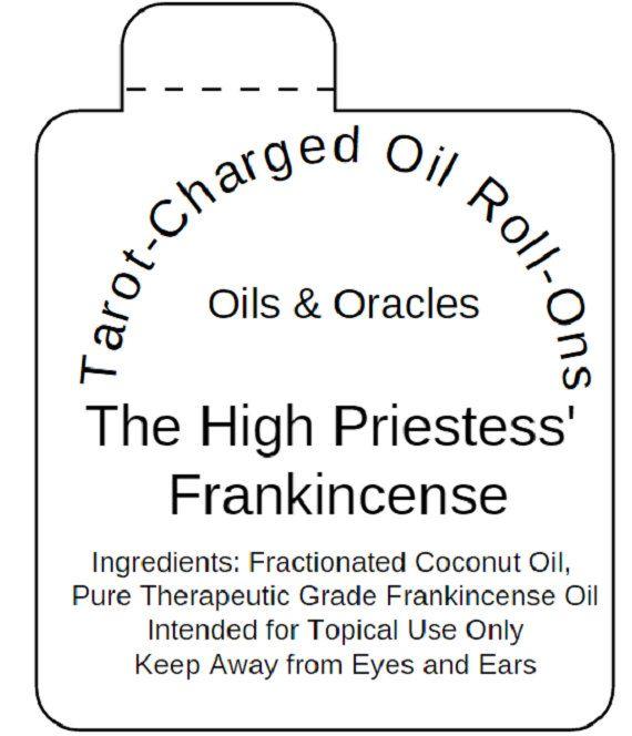 High Priestess Frankincense Roll-On by SacredSelfWellness on Etsy