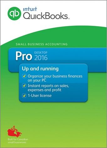 QuickBooks Pro 2016 R11 Canadian Edition Cracked Full