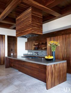 This Kitchen Ideaa Is Marvelous! Amazing How It Incorporates So Many  Elements. ♥ Discover