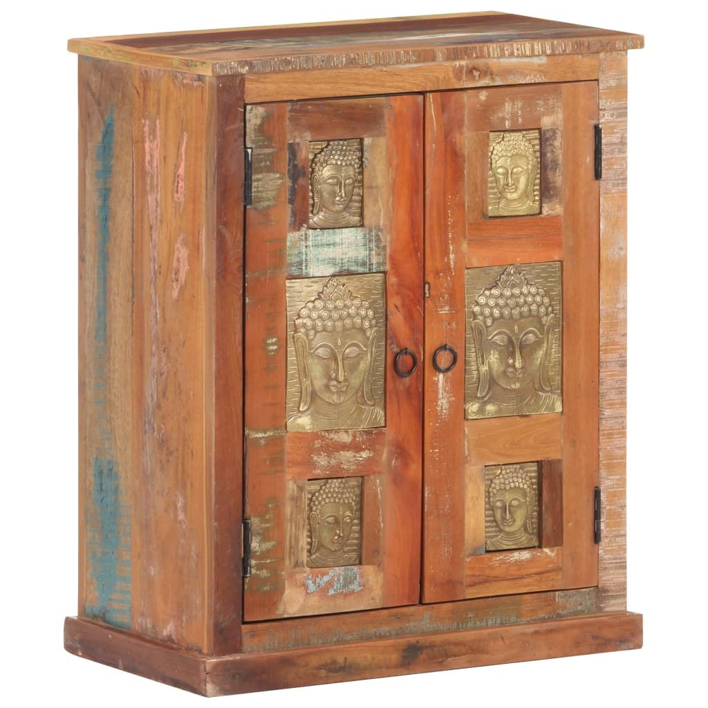 Dresser sideboard with Buddha paneling 60x35x75cm old wood …