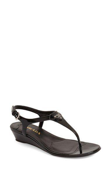 7ee2d4bdf6a PRADA Wedge Sandal (Women).  prada  shoes  sandals