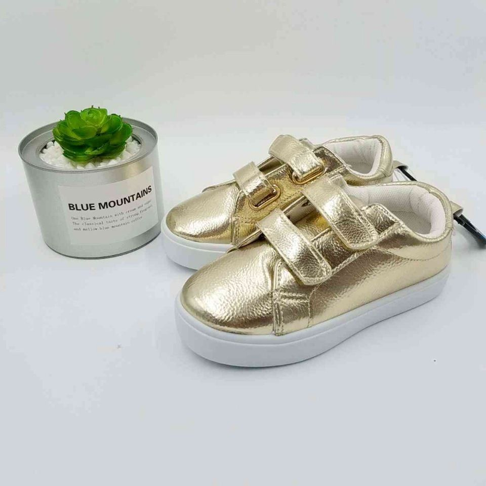 0dffe09a Children golden pu sneakers boots kids canvas shoes girls boys casual shoes  mother best choice baby shoes canvas special sale