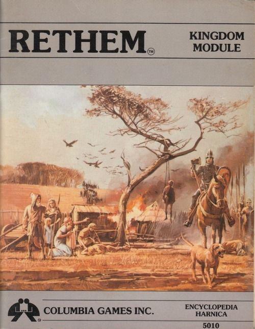 HârnMaster: Rethem ~ Columbia Games (1985)