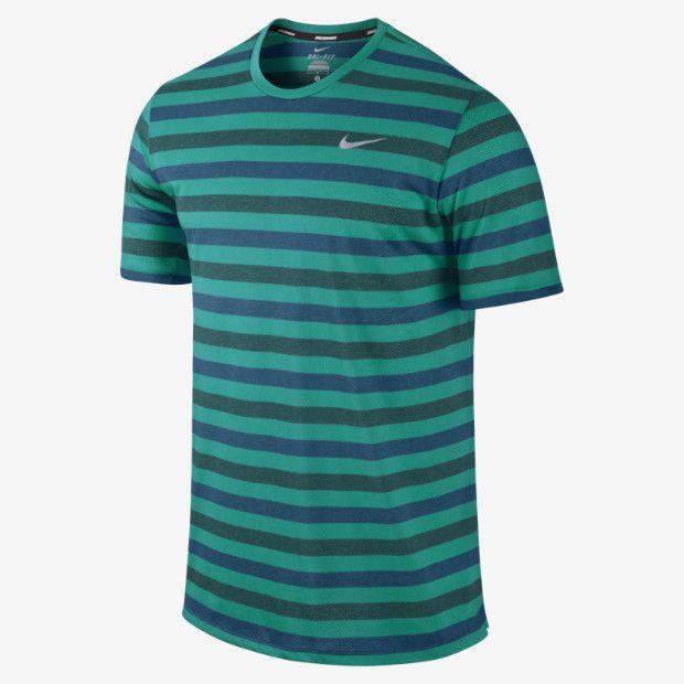 Nike Dri-FIT Touch Tailwind Short-Sleeve Striped, mooola!