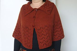"""Pattern description from Wrap Style: """"This pattern, the latest addition to Ann Budd's Grand Plan series of project instructions, features three versions of a capelet worked in one piece from the neck down and shaped with increases along four raglan lines. Presented in easy-to-read chart form, the instructions given here are for three sizes (child, woman's small/medium, woman's large), five possible gauges (2,3,4,5 and 6 stitches per inch), and pullover or cardigan variations. By changing…"""