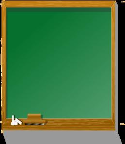 Classroom blackboard. Chalkboard tall clip art
